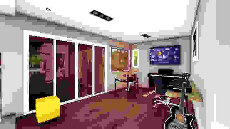 Casa AP Estudios y oficinas modernos de Módulo 3 arquitectura Moderno