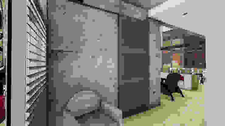 Casa AP Pasillos, vestíbulos y escaleras modernos de Módulo 3 arquitectura Moderno