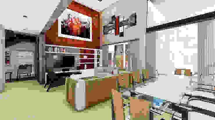 Casa AP Livings modernos: Ideas, imágenes y decoración de Módulo 3 arquitectura Moderno