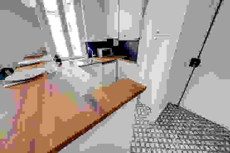 現代廚房設計點子、靈感&圖片 根據 Decorexpat 現代風