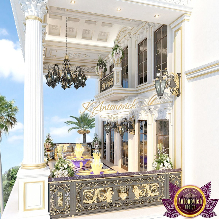 Virtuoso architectural projects from Katrina Antonovich Classic style houses by Luxury Antonovich Design Classic