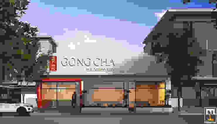 Gong Cha Da Nang bởi NT.DESIGN Hiện đại
