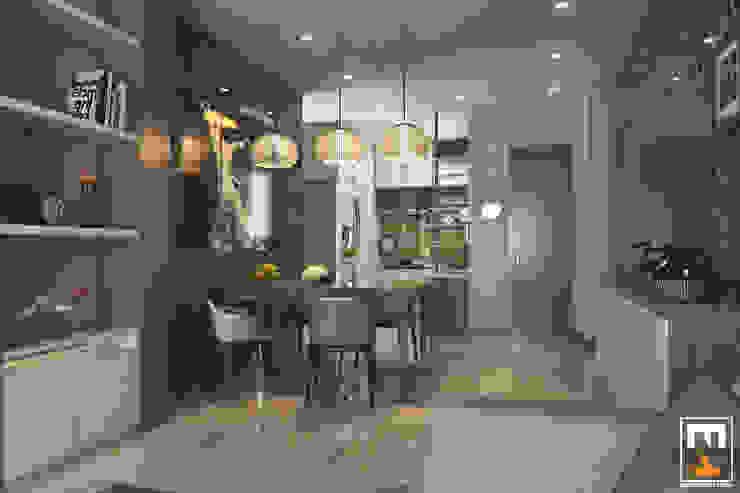INTERIOR HAKA BOUTIQUE Phòng ăn phong cách hiện đại bởi NT.DESIGN Hiện đại