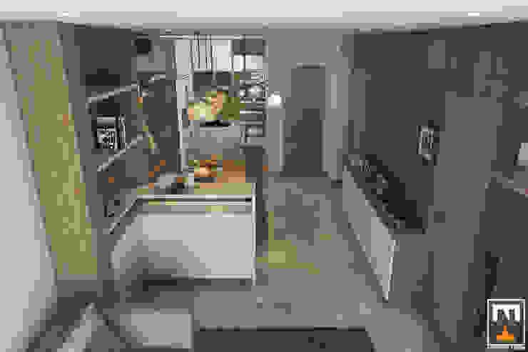 INTERIOR HAKA BOUTIQUE Nhà bếp phong cách hiện đại bởi NT.DESIGN Hiện đại