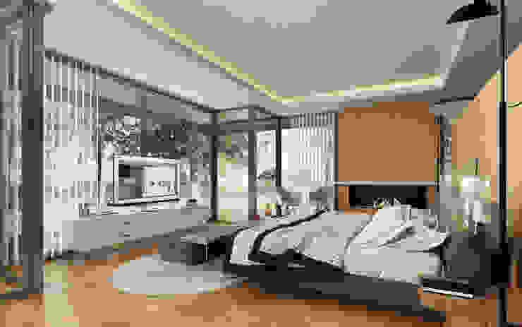 Interiores 3d - 3:  de estilo  por 3dkuviqa studio