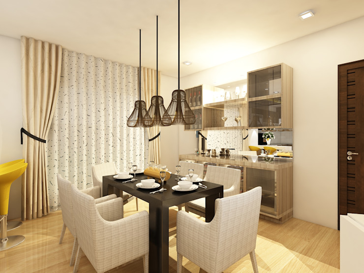Dining :  Dining room by Regalias India Interiors & Infrastructure