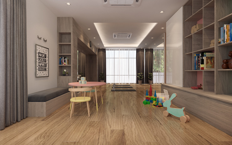 SK House: ทันสมัย  โดย IDB GROUP (Thailand), โมเดิร์น