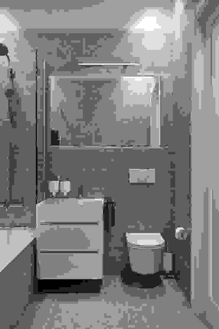 Baños de estilo escandinavo de Дизайн студия Алёны Чекалиной Escandinavo