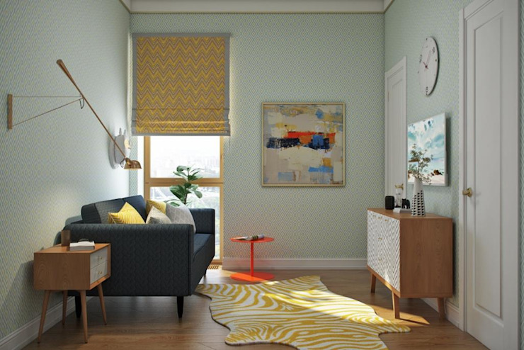 Дизайн студия Алёны Чекалиной Chambre d'enfant scandinave