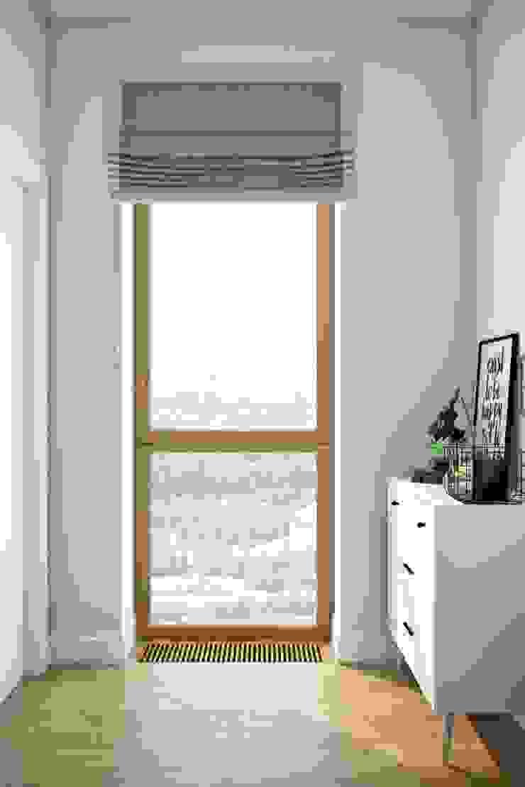 Dormitorios de estilo escandinavo de Дизайн студия Алёны Чекалиной Escandinavo
