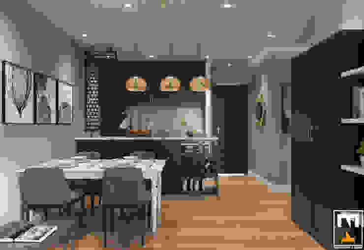 Cocinas modernas de NT.DESIGN Moderno