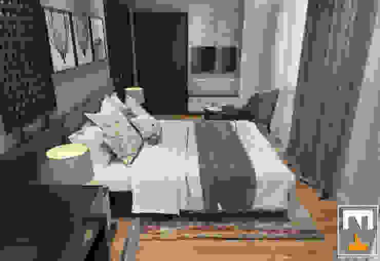 Dormitorios modernos de NT.DESIGN Moderno