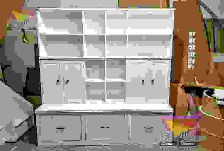 Hermoso mueble multifuncional de camas y literas infantiles kids world Moderno Derivados de madera Transparente