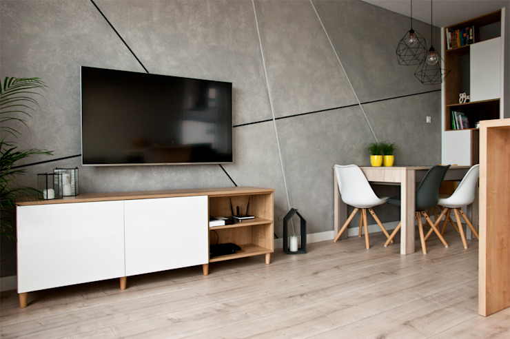 by SO INTERIORS ARCHITEKTURA WNĘTRZ Scandinavian