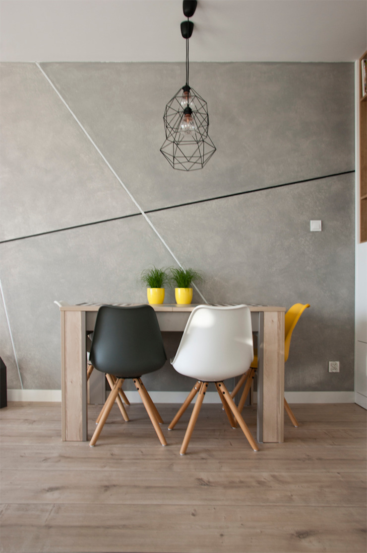 Scandinavian style dining room by SO INTERIORS ARCHITEKTURA WNĘTRZ Scandinavian