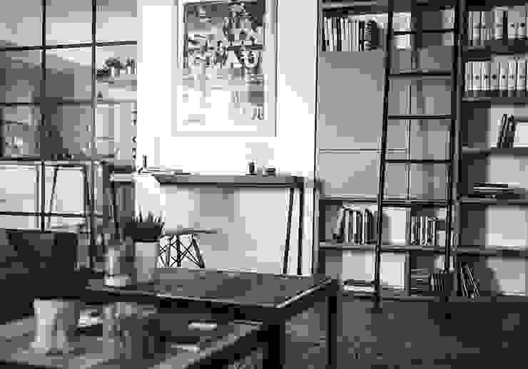 Phòng khách phong cách công nghiệp bởi Giulia Brutto Architetto Công nghiệp