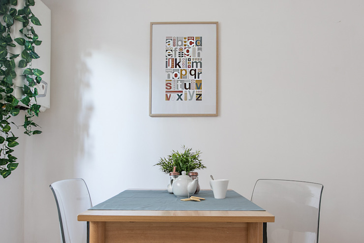 Habitat Home Staging & Photography ห้องครัวโต๊ะและเก้าอี้