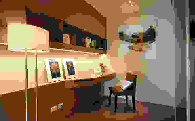 Modern study/office by 沐光植境設計事業 Modern Plywood