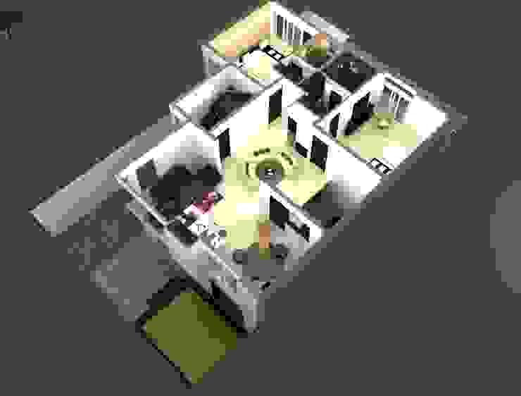 Suneja Residence Interior Design by Studio Rhomboid Modern