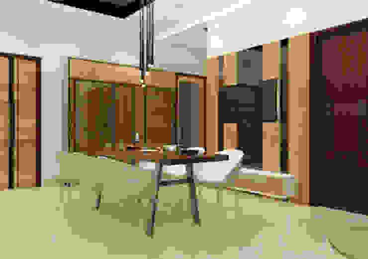 Suneja Residence Interior Design Modern dining room by Studio Rhomboid Modern