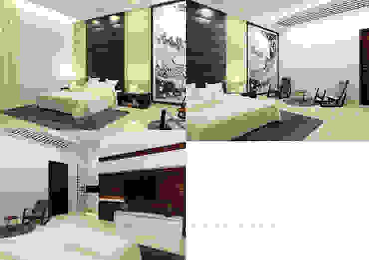 Suneja Residence Interior Design Modern style bedroom by Studio Rhomboid Modern