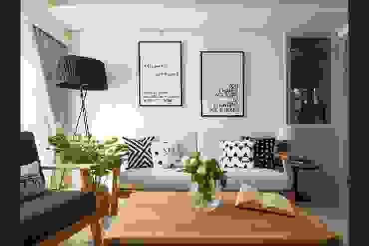 北歐小清新客廳: 斯堪的納維亞  by M.W JOINTS |罕氏家居, 北歐風