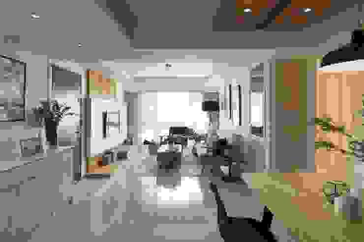 M.W JOINTS罕氏家居 x LIFEO豊禾設計 北歐小清新風格客廳 根據 M.W JOINTS |罕氏家居 北歐風