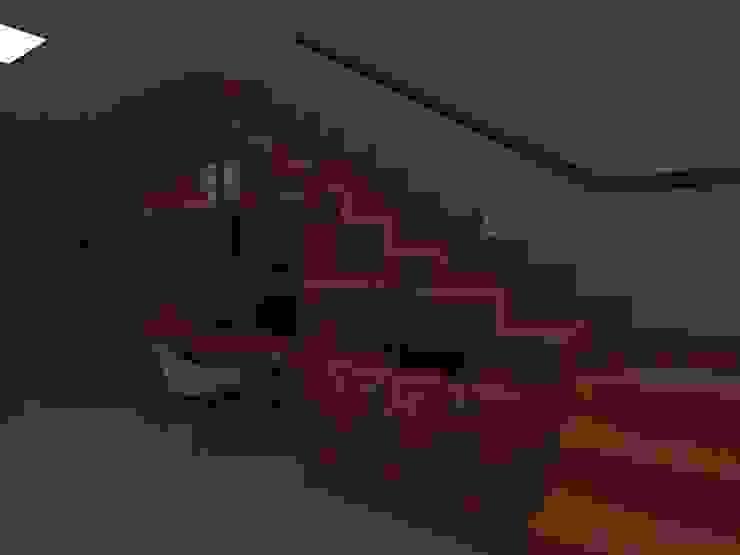 Лестницы в . Автор – Marcelo Pestana Arquitetura, Модерн