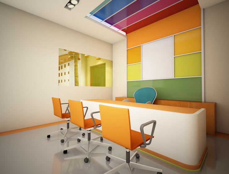 Counselors Room Modern schools by Studio Rhomboid Modern