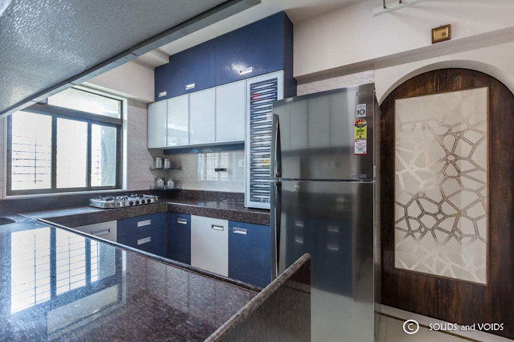 2BHK residence: modern  by solids and voids,Modern