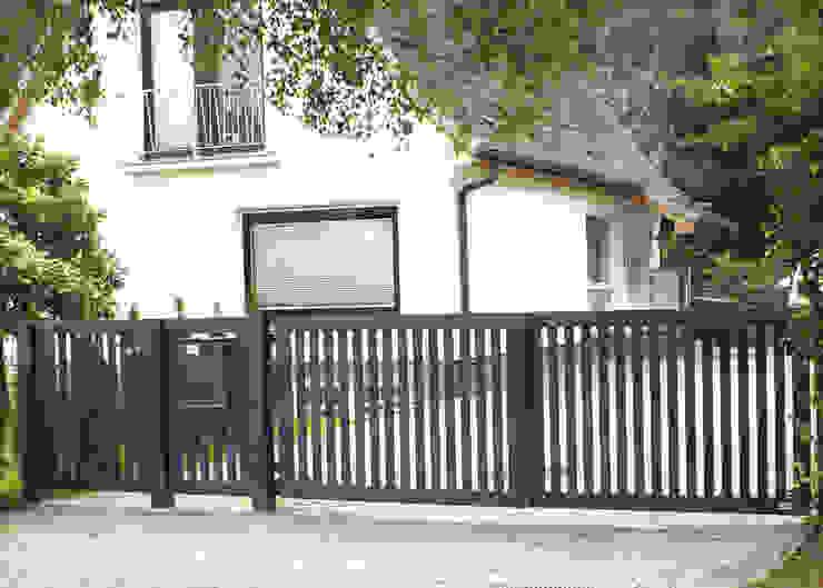 Nordzaun Front yard Aluminium/Zinc Grey