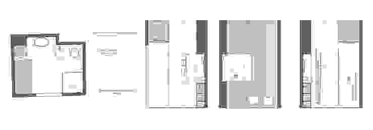 BAGNO DESIGN VIA GIULIA MINIMA Architetti