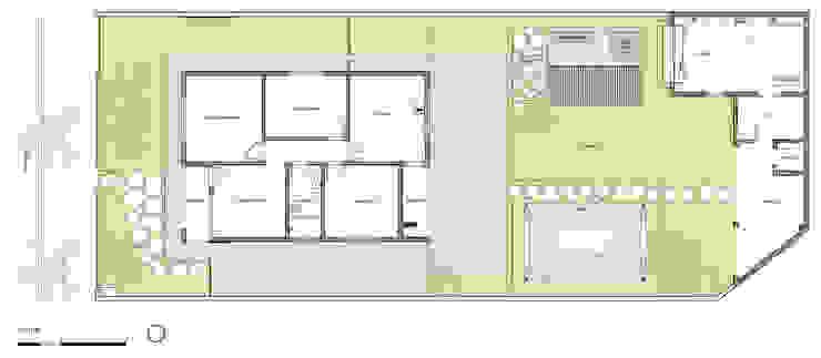 Planta por ODVO Arquitetura e Urbanismo