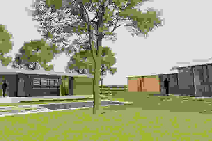 Moderne uitbouw monumentale villa van Thomas Architecten