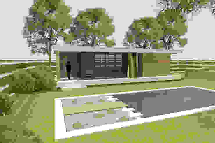 Nieuwbouw paviljoen van Thomas Architecten
