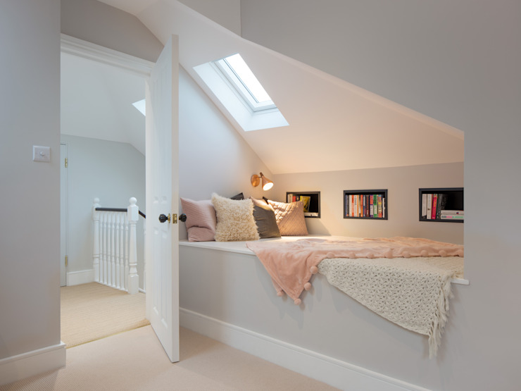 Loft nook Kamar Tidur Modern Oleh TAS Architects Modern