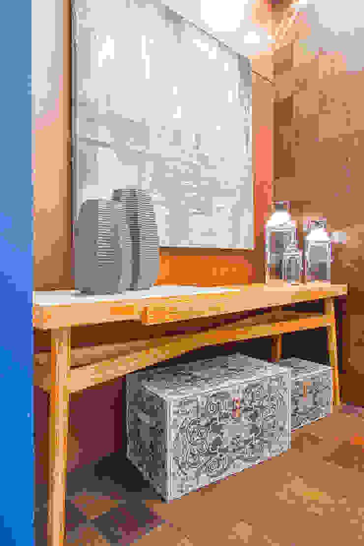 Sgabello Interiores Balconies, verandas & terraces Furniture Engineered Wood Wood effect