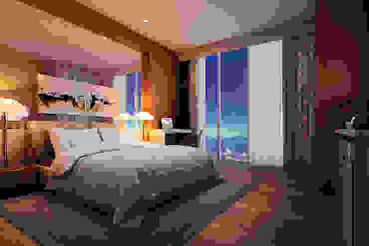 Suíte Hotéis modernos por Marcos Assmar Arquitetura | Paisagismo Moderno