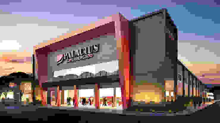Palacius Supermercado por Marcos Assmar Arquitetura | Paisagismo