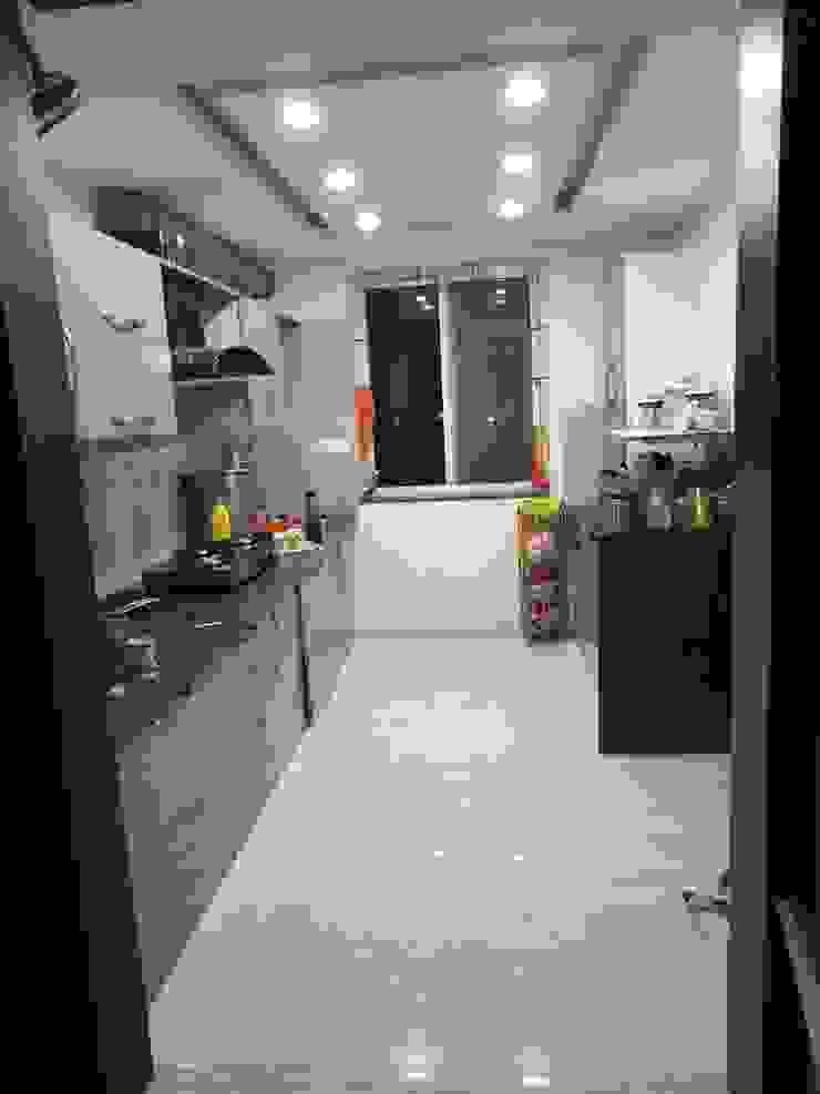 SPACEEDGE INTERIOR Modern kitchen by SpaceedgeInterior Modern