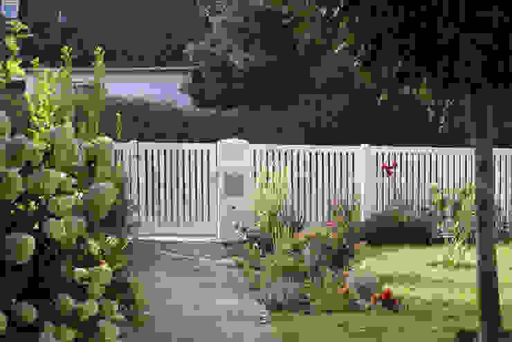 Nordzaun Front garden Aluminium/Zinc White