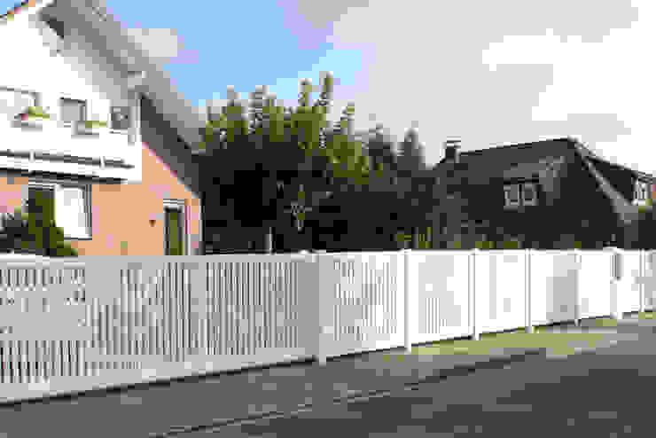 Nordzaun Front yard Aluminium/Zinc White