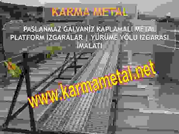 KARMA METAL-galvaniz kaplamali metal platform izgara kedi yolu izgarasi petek izgara cesitleri tam gecme yarim gecme izgara kanal izgarasi KARMA METAL Endüstriyel