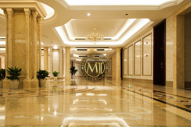 Project Modern corridor, hallway & stairs by Interior Styling by MJI Modern