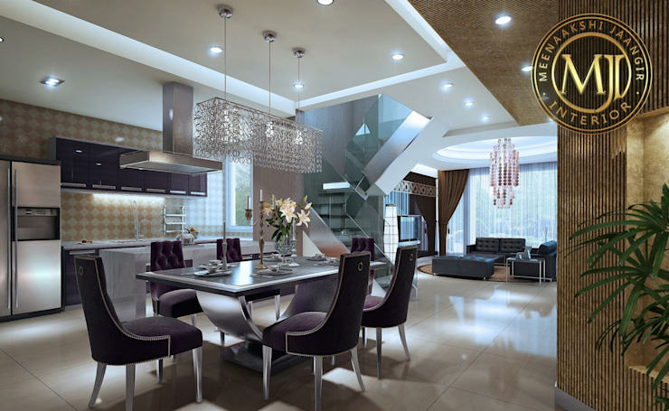 Project Modern dining room by Interior Styling by MJI Modern