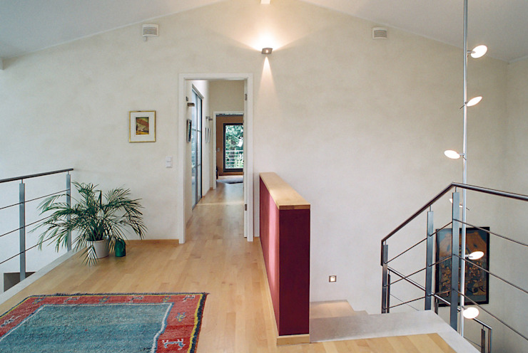 Grotegut Architekten 現代風玄關、走廊與階梯