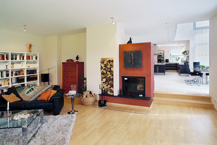 Grotegut Architekten 现代客厅設計點子、靈感 & 圖片