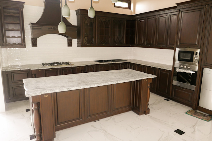 ​Viscon White ​Granite Kitchen Countertop in Guadalupe, Cebu City by Stone Depot Classic
