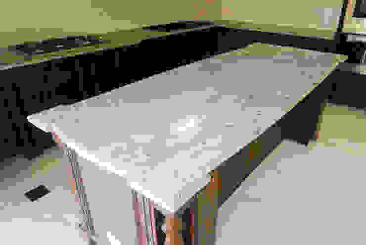 Viscon White Granite Kitchen Countertop in Guadalupe, Cebu City by Stone Depot Classic