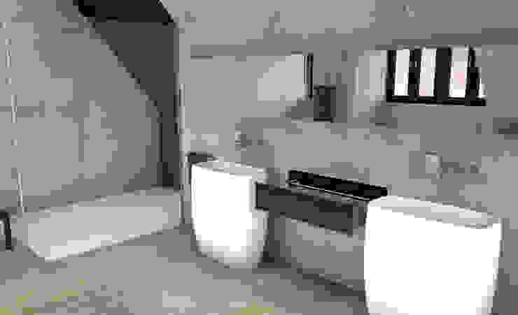 Badezimmer im siebten Himmel Moderne Badezimmer von URBANroom Modern Holz Holznachbildung